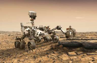 Ini Foto Pertama Permukaan Mars Hasil Jepretan Mobil Robotik NASA