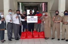 Bank Jateng Bagikan Paket Sembako di Lingkungan Pasar…