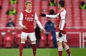 Odegaard Berhasil Mencuri Perhatian di Laga Benfica…