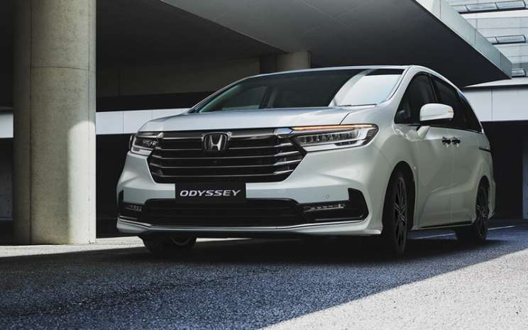 PT Honda Prospect Motor memperkenalkan New Honda Odyssey dalam acara peluncuran yang dilakukan secara virtual di kanal Youtube Hondaisme pada 18 Februari 2021 -  Honda/Indonesia.com