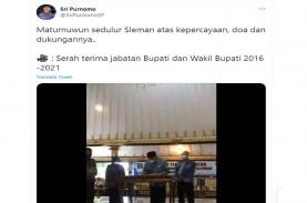 Viral! Video Bupati Sleman Sertijab ke Istri. Politik…