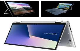 PERANGKAT MOBILE : Laptop Hybrid Nan Menggeliat