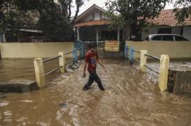 Banjir Sabtu 20 Februari, Begini Pantauan di Depok