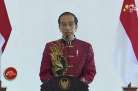 Imlek Nasional 2021, Jokowi Minta Pengusaha Aktif…