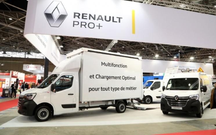Renault Pro. Renault menargetkan penguasaan pasar lebih dari 30 persen di Eropa. - Renault
