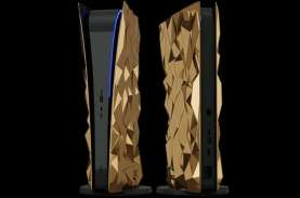PlayStation 5 Berlapis Emas Dibanderol Rp7 Miliar,…