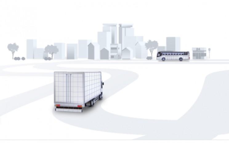 Transtron saat ini membantu operator truk dan bus komersial untuk memantau sekitar 200.000 kendaraan. - Transtron