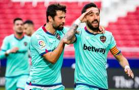 Hasil Lengkap La Liga, Levante Kembali Ganjal Atletico, Skor 2–0