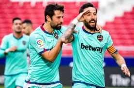 Hasil Lengkap La Liga, Levante Kembali Ganjal Atletico,…