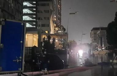 Kemang Longsor, 33 Ruas Jalan Jaksel Terendam Banjir