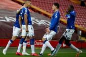 Liverpool Telan 4 Kekalahan Beruntun di Liga Inggris, 0–2 vs Everton