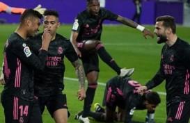 Libas Valladolid, Madrid Pangkas Jarak Nilai dari Atletico di La Liga