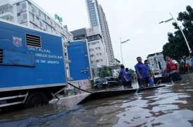 Banjir Jakarta: Singgung Depok, Anies Pastikan Jalan…