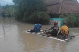Tanggul Citarum Jebol, Empat Desa di Kabupaten Bekasi…