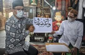 Gubernur Jabar Dorong Seni Kaligrafi di Pondok Pesantren