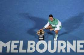 Novak Djokovic Juara Australia Terbuka 9 Kali