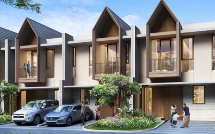 Ilustrasi cluster Blue Crystal Residence - www.summareconmutiara.com