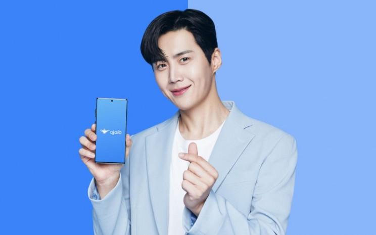 PT Ajaib Sekuritas menggandeng aktor pemeran Han Ji/Pyeong dalam serial Start/Up itu sebagai brand ambassador.