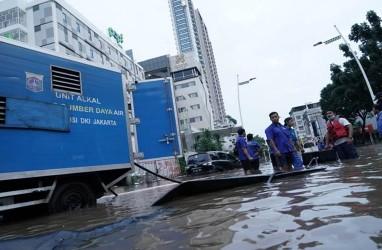 Ada Kabar Anies Datang, Banjir di Rawa Buaya Surut Siang Harinya