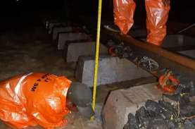 Dampak Banjir, KAI Fokus Perbaiki Fondasi Rel Kereta