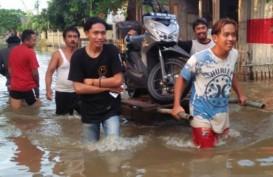 Banjir Masih Rendam Bekasi, Ketinggian Hingga 2,5 Meter