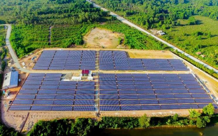 Proyek Microgrid dari PT ABB Power Grids Indonesia di PT Indominco Mandiri di Bontang Kalimantan Timur. - Istimewa