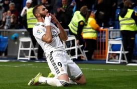 Benzema Masuk Daftar Cedera Madrid, Hanya 11 Pemain Senior ke Italia