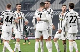 Hasil Liga Italia : Juventus Habisi Crotone, Merapat ke Inter & Milan