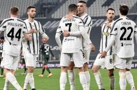 Hasil Liga Italia : Juventus Habisi Crotone, Merapat…