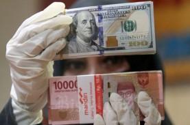 Rupiah Semringah Ambil Momentum Pelemahan Dolar AS