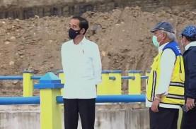 Jokowi Resmikan Bendungan Napun Gete di NTT