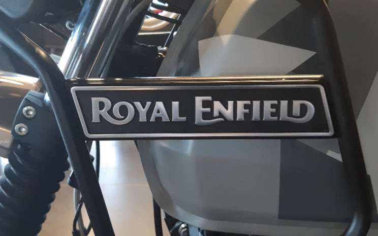Royal Enfield.  - BISNIS.COM/Dionisio Damara\\n