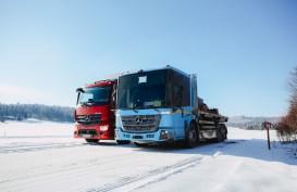 Mercedes-Benz eActros dan eEconic Jalani Uji Salju