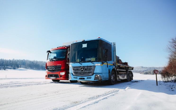 Mercedes Benz eActros dan eEconic.  - DAIMLER