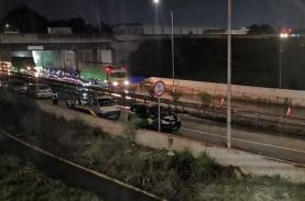 Sempat Tergenang, Exit Bitung Tol Jakarta-Tangerang…