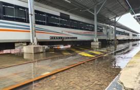 Banjir Stasiun Tawang Semarang Surut, Pelayanan Masih Dialihkan