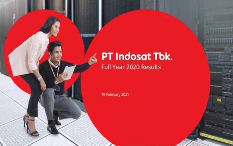Total pendapatan PT Indosat Ooredoo tumbuh sebesar 6,9% (YoY) menjadi Rp27,9 triliun dan endapatan seluler tumbuh sebesar 11,6% (YoY) menjadi Rp23,1 triliun. - Istimewa