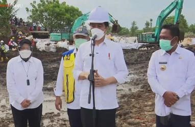 Jokowi: Perbaikan Tanggul Citarum Selesai 2 Hari Lagi