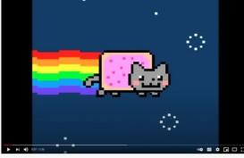 Ajaib! Gambar Animasi Kucing, Nyan Cat Dilelang Rp8,21 Miliar