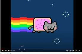 Ajaib! Gambar Animasi Kucing, Nyan Cat Dilelang Rp8,21…