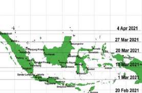 Hari Tanpa Bayangan Kembali Terjadi di Indonesia,…