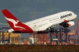 Qantas Tunda Jadwal Buka Penerbangan Internasional…
