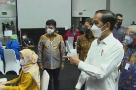 Jokowi Tinjau Vaksinasi Covid-19 5.500 Wartawan di…