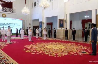 Dilantik Jokowi, Ini Program Prioritas Gubernur Sumbar, Kepri & Bengkulu