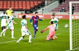 Top Skor La Liga, Lionel Messi 2 Gol Lewati Luis Suarez