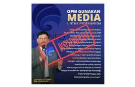 Cek Fakta: Menkominfo Tuding OPM Lakukan Proganda via Media Daring?
