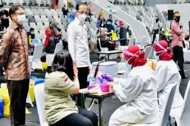 Jokowi: Alhamdulillah, RI Terdepan dalam Vaksinasi…
