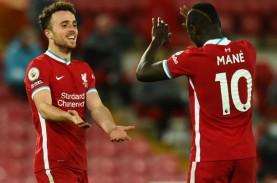 Jota Mulai Latihan Bersama Skuat Liverpool Usai Sembuh…