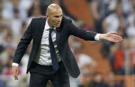 Zidane Tidak Mau Sesumbar Meski Sudah Kantongi Kemenangan atas Atalanta