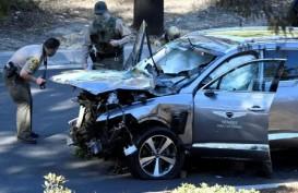 Kecelakaan Mobil Tiger Woods Bayangi Kejuaraan Golf Dunia